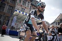 Tom Boonen (BEL/Etixx-QuickStep)<br /> <br /> Halle-Ingooigem 2015 <br /> start