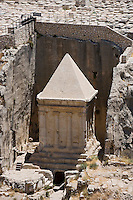 Asie/Israël/Judée/Jérusalem:Tombeau du prophète Zacharie à Jérusalem