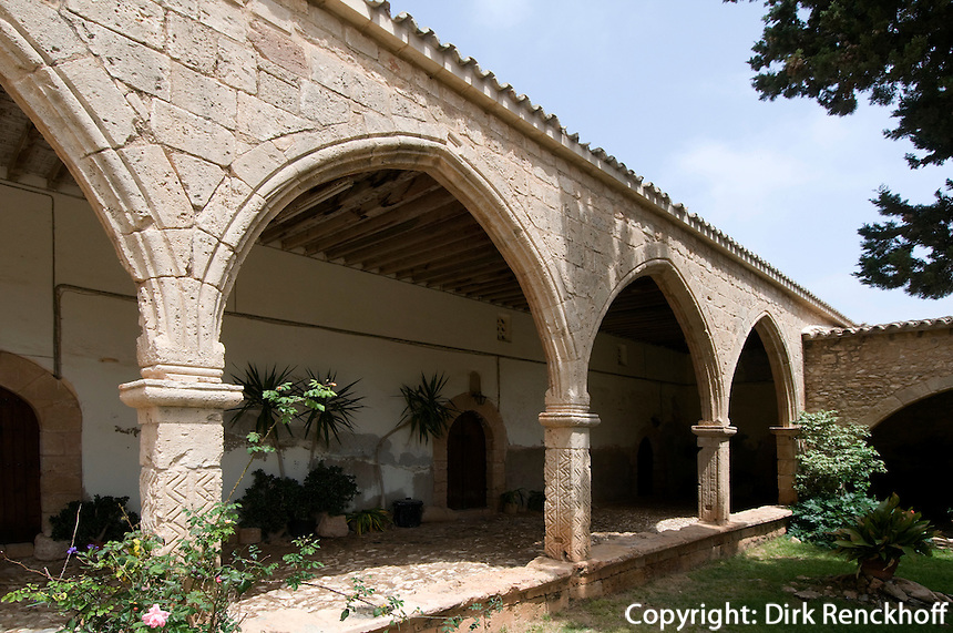 Zypern (Süd), Kloster in Agia Napa, Kreuzgang