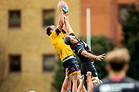 Thursday 9th September 20218 <br /> <br /> Greg Jones during the pre-season friendly between Saracens and Ulster Rugby at the Honourable Artillery Company Grounds, Armoury House, London, England. Photo by John Dickson/Dicksondigital