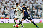 Carlos Henrique Casemiro (L) of Real Madrid fights for the ball with Michael Nicolas Santos Rosadilla of CD Leganes during the La Liga 2018-19 match between Real Madrid and CD Leganes at Estadio Santiago Bernabeu on September 01 2018 in Madrid, Spain. Photo by Diego Souto / Power Sport Images