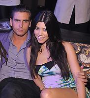 MIAMI BEACH, FL - MARCH 28: (EXCLUSIVE COVERAGE)  Kourtney Kardashian hooks back up with Scott Disick at Set nightclub.  on March 28, 2009 in Miami Beach Florida. <br /> <br /> People:  Kourtney Kardashian