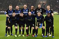 Inter team lines Up <br /> Milano 26-12-2018 Stadio San Siro Football Calcio Serie A 2018/2019 Inter - Napoli <br /> Foto Image Sport / Insidefoto