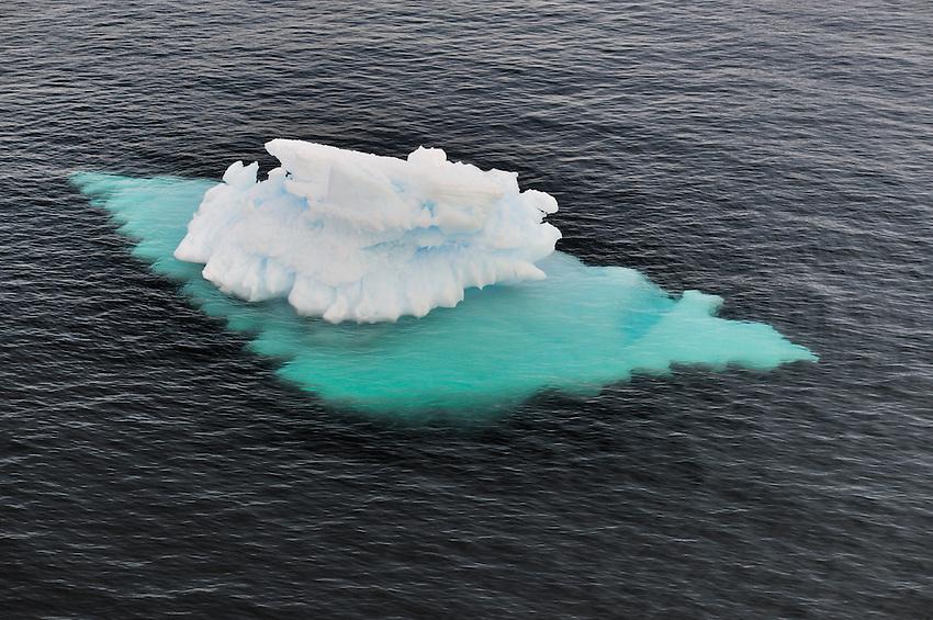 Starship Enterprise checking for leaks - In the Herrera Channel