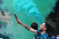 30/01/2021 - MOVIMENTAÇÃO DE TORCEDORES DO PALMEIRAS