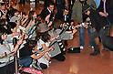Johnny Depp arrives at Tokyo International Airport