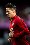 Fernando Torres of Atletico de Madrid warms up prior to the La Liga 2017-18 match between Atletico de Madrid and UD Las Palmas at Wanda Metropolitano  on January 28 2018 in Madrid, Spain. Photo by Diego Souto / Power Sport Images