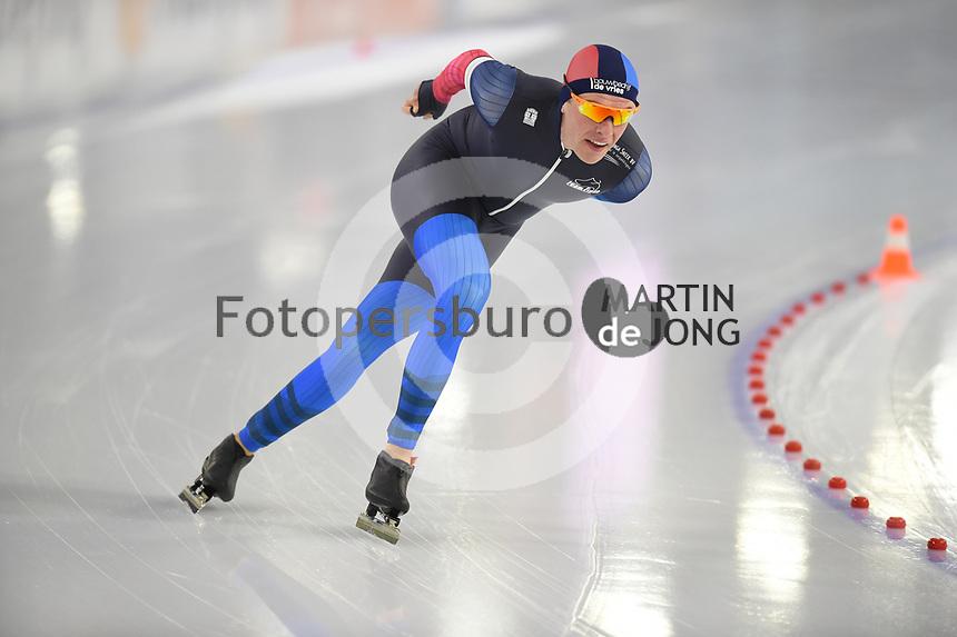 SCHAATSEN: HEERENVEEN: 21-11-2020, IJsstadion Thialf, Daikin NK ALLROUND, Marwin Talsma, ©foto Martin de Jong