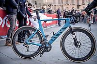 Mathieu Van der Poel's (NED/Alpecin-Fenix) winning bike<br /> <br /> 15th Strade Bianche 2021<br /> ME (1.UWT)<br /> 1 day race from Siena to Siena (ITA/184km)<br /> <br /> ©kramon