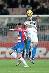 Granada CF's Antonio Puertas  and Real Club Deportivo de la Coruña's Pablo Mari during La Liga 2 match. February 10,2019. (ALTERPHOTOS/Alconada)