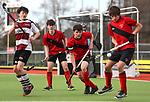 North Harbour 1 v Canterbury 2. Round 2. Men's U18 Hockey Nationals, Gallagher Hockey Centre, Hamilton. Monday 12 July 2021. Photo: Simon Watts/www.bwmedia.co.nz