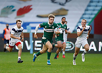 4th October 2020; Twickenham Stoop, London, England; Gallagher Premiership Rugby, London Irish versus Bristol Bears; Ollie Hassell-Collins of London Irish charging for the try line