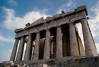 Athens: The Parthenon--West Front. Photo ;82.