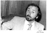 Le Ministre de l'Énergie Guy Joron, probablement en 1978<br /> <br /> PHOTO : JJ Raudsepp  - Agence Quebec presse
