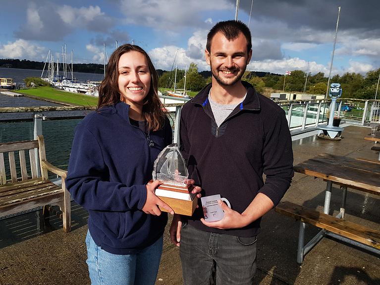 Overall winners - Cara McDowell and Josh Porter
