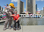 Marco Dispaltro, Toronto 2015.<br /> Marco Dispaltro is named as the opening ceremonies flag bearer for the Toronto 2015 Parapan American Games // Marco Dispaltro est nommé porte-drapeau des cérémonies d'ouverture des Jeux parapanaméricains de 2015 à Toronto. 05/08/2015.