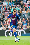 Philippe Coutinho of FC Barcelona in action during the La Liga 2017-18 match between FC Barcelona and Valencia CF at Camp Nou on 14 April 2018 in Barcelona, Spain. Photo by Vicens Gimenez / Power Sport Images