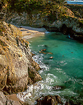China Cove, Point Lobos State Reserve, Big Sur, Monterey County, California