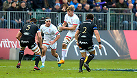 16 November 2019; Jordi Murphy races clear to score during the Heineken Champions Cup Pool 3 Round 1 match between Bath and Ulster at The Recreation Ground in Bath, England. Photo by John Dickson/DICKSONDIGITAL