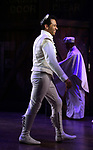 """Corbin Bleu during the Broadway Opening Night Curtain Call for """"Kiss Me, Kate""""  at Studio 54 on March 14, 2019 in New York City."""