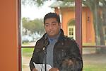 Westbury student Sagar Shakar speaking about his experiences being a refugee in Houston.