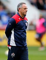 Photo: Richard Lane/Richard Lane Photography. Bristol Rugby v Wasps. Aviva Premiership. 16/04/2017. Bristol's Head Coach, Mark Tainton.