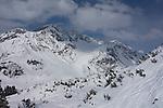 Riding Albona Chair 1 at Stuben Ski Area, St Anton, Austria