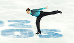 Peter Liebers of Germany competes in the Figure Skating Men Short Program during the 2014 Sochi Olympic Winter Games at Iceberg Skating Palace on February 6, 2014 in Sochi, Russia. Photo by Victor Fraile / Power Sport Images