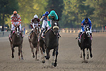 9 April 2009: Zenyatta, riden by Mike Smith, wins the 45th running of the Apple Blossom at Oaklawn in Hot Springs, Arkansas