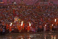 Everyday people join together for Aarti Spirit soar as people give thanks for this new day and for all blessed with