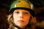 Skateboarder Brett Pogoda, 11, of Gilford, New Hampshire, at Camp Woodward in Woodward, Pennsylvania.  August 19, 2005.