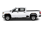 Car Driver side profile view of a 2020 GMC Sierra-2500HD - 4 Door Pick-up Side View
