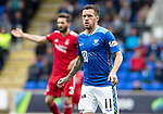 St Johnstone v Aberdeen…15.09.18…   McDiarmid Park     SPFL<br />Danny Swanson on his return to saints<br />Picture by Graeme Hart. <br />Copyright Perthshire Picture Agency<br />Tel: 01738 623350  Mobile: 07990 594431