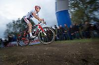 Koppenbergcross 2013<br /> <br /> British Champion Ian Field (GBR) leading the race in the 2nd lap