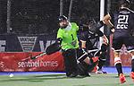 Men's North v South finals hockey match, St Pauls Collegiate, Hamilton, New Zealand. Tuesday 20 April 2021 Photo: Simon Watts/www.bwmedia.co.nz