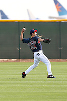 Grady Sizemore. Cleveland Indians spring training workouts at their complex in Goodyear, AZ - 03/06/2010.Photo by:  Bill Mitchell/Four Seam Images.