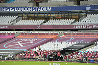 General view of the London Stadium no fans during West Ham United vs Charlton Athletic, Caraboa Cup Football at The London Stadium on 15th September 2020