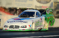 May 4, 2012; Commerce, GA, USA: NHRA funny car driver Jack Beckman during qualifying for the Southern Nationals at Atlanta Dragway. Mandatory Credit: Mark J. Rebilas-