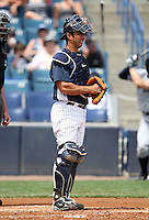 April 3, 2010:  Catcher Jorge Posada of the New York Yankees playing in the annual Futures Game during Spring Training at Legends Field in Tampa, Florida.  Photo By Mike Janes/Four Seam Images