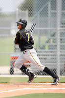 August 15, 2008: Benjamin Gonzalez (7) of the GCL Pirates. Photo by: Chris Proctor/Four Seam Images