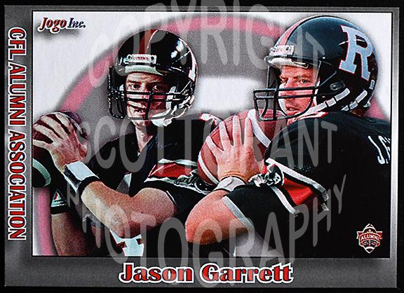 Jason Garrett-JOGO Alumni cards-photo: Scott Grant