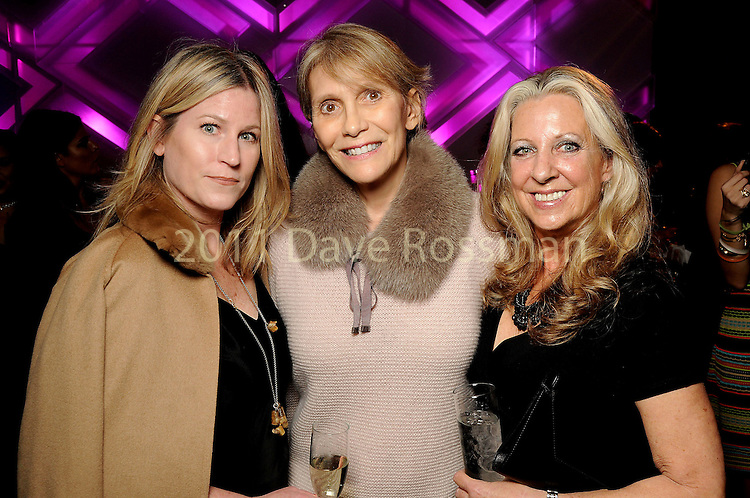 From left: Kelly Kavaler, Karen Moore and Lora Chivers at the Vogue Galleria Fashion Show at the Galleria Thursday Sept. 10,2015.(Dave Rossman photo)