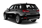 Car pictures of rear three quarter view of a 2018 BMW X5 xDrive35d 5 Door SUV angular rear