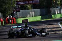 31st October 2020, Imola, Italy; FIA Formula 1 Grand Prix Emilia Romagna, Free Practise sessions; Valtteri Bottas. Mercedes team