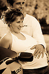Family in Brandon Manitoba that I photographed when they were pregnant and then once their son was born. Photographer Brian Milne 4iiiis Photography.