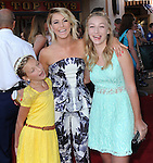 Julianne Hough with her nieces at The Disney World Premiere of The Lone Ranger held at at Disney California Adventure in Anaheim, California on June 22,2021                                                                   Copyright 2013 Hollywood Press Agency