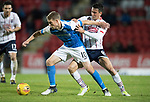 St Johnstone v Ross County…24.10.17…  McDiarmid Park…  SPFL<br />David Wotherspoon and Tim Chow<br />Picture by Graeme Hart. <br />Copyright Perthshire Picture Agency<br />Tel: 01738 623350  Mobile: 07990 594431