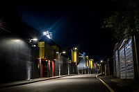4th November 2020; Vicarage Road, Watford, Hertfordshire, England; English Football League Championship Football, Watford versus Stoke City; A general view of a deserted Occupation Road outside Vicarage Road stadium due to the pandemic