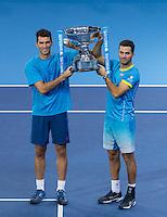 J Julien Rojer & H Tecua v R BOPANNA & F MERGIA - ATP World Tour - FINAL - 22.11.2015