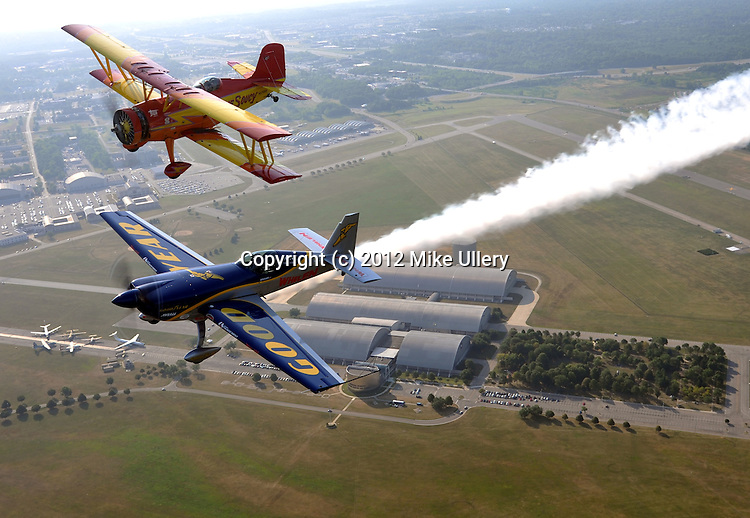 Practice day at the 2012 Vectren Dayton Air Show.